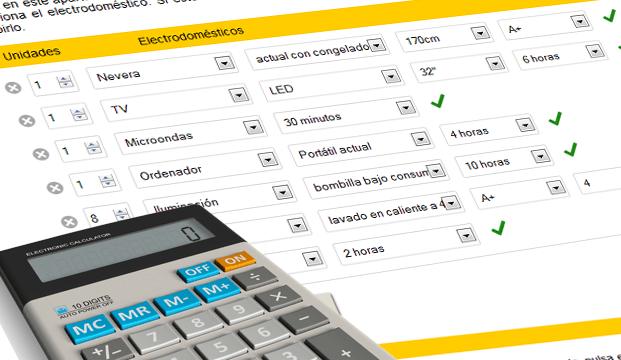 Formulario para calcular tu kit solar personalizado según tus consumos