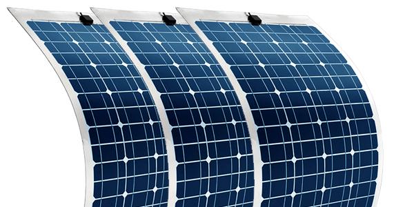 Nueva gama de kits solares con placas flexibles