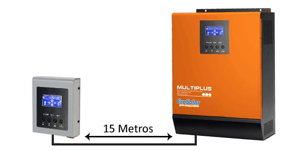 Pantalla externa para controlar a distancia los inversores cargadores Multiplus.