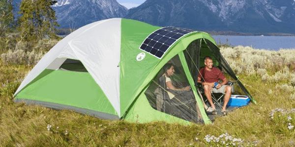 Pequeñas instalaciones solares para ir de acampada o para excursiones