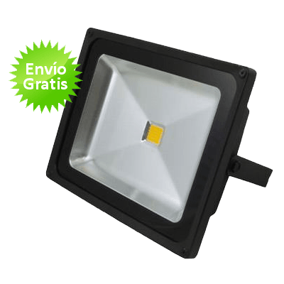 Foco led de 50w for Focos de led para exterior