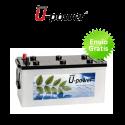 Batería solar monoblock ciclo profundo U-POWER 165Ah