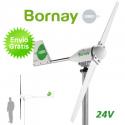 Aerogenerador Bornay 600W 24V - Energía eólica