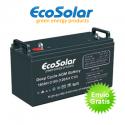 Bateria AGM Ecosolar 160Ah C100 12V