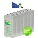 Bateria solar Interberg SHE-600 850Ah C100 (708Ah C10)