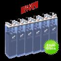 Batería estacionaria Faam OPzS C100 de 5100Ah