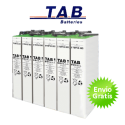 Bateria estacionária TAB TOPzS C100 de 650Ah (C10 500Ah)