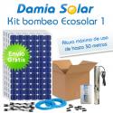 Kit de bombeo Ecosolar 1 - Caudal máx. 5000 litros/hora