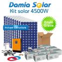 Kit 4500W ECO: Nevera congelador, Lavavajillas, TV, microondas, lavadora, etc