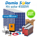 Kit 4500W: Nevera congelador, Lavavajillas, TV, microondas, lavadora, DVD, etc
