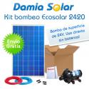 Kit de bombeo Ecosolar 2420 24V - Caudal máx. 1200 litros/hora