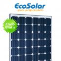 Placa solar Ecosolar 180W 24V monocristalina