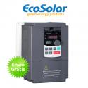 Variador de frecuencia solar Ecosolar 2CV para bomba de agua trifásica 230V