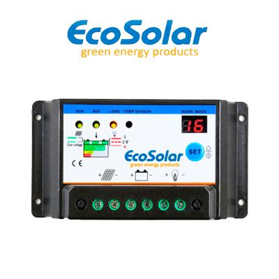 Regulador de carga Ecosolar...