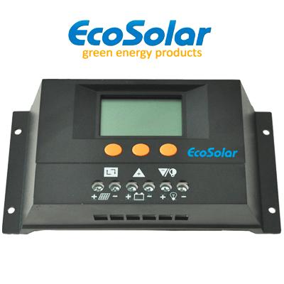 Regulador Ecosolar 30A Com...