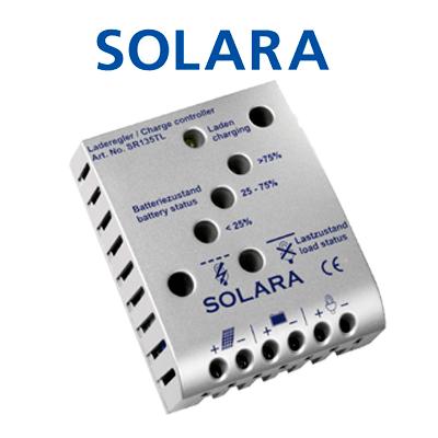 Regulador de carga Solara...