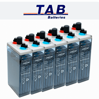 Bateria solar estacionaria...