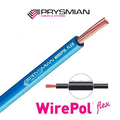 Cable Eléctrico Wirepol Flex  6 Mm2.    Caja De 100 Metros