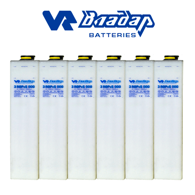 Batería Vr Ropzs 875. 1263ah C100 (975ah C10)