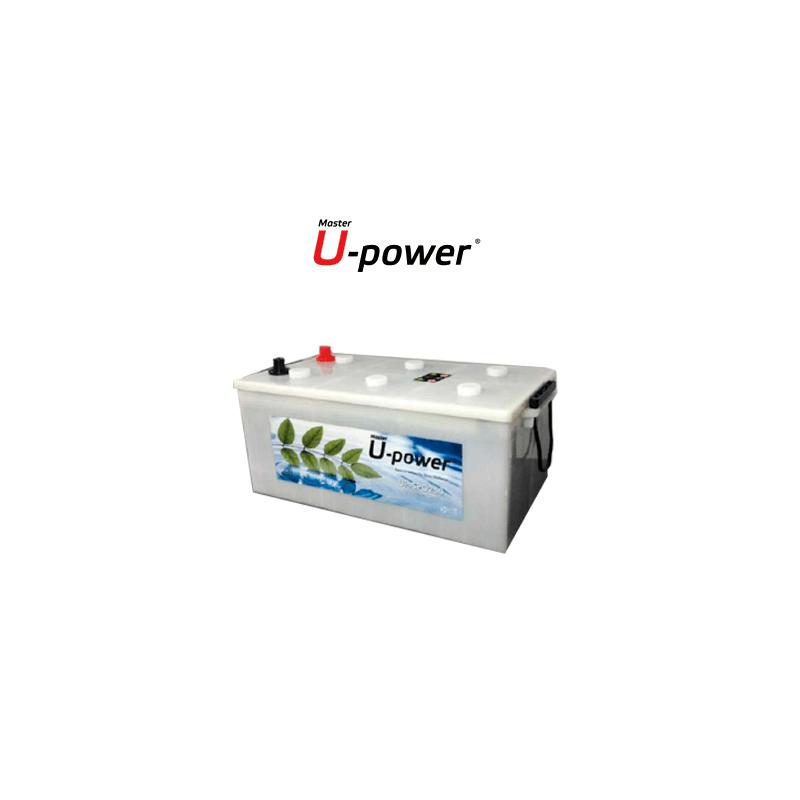Batería Solar Monoblock Ciclo Profundo U-power 250ah