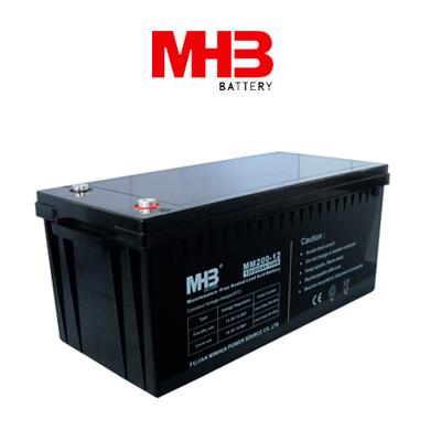 Bateria Solar Mhb Sunmatic Agm Mm-250ah C100