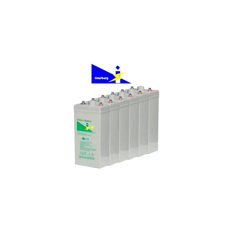 Batería Solar De Silicio Interberg  She-1000 1416ah C100 (1180ah C10)