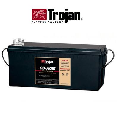 Batería Solar Agm Trojan 254ah