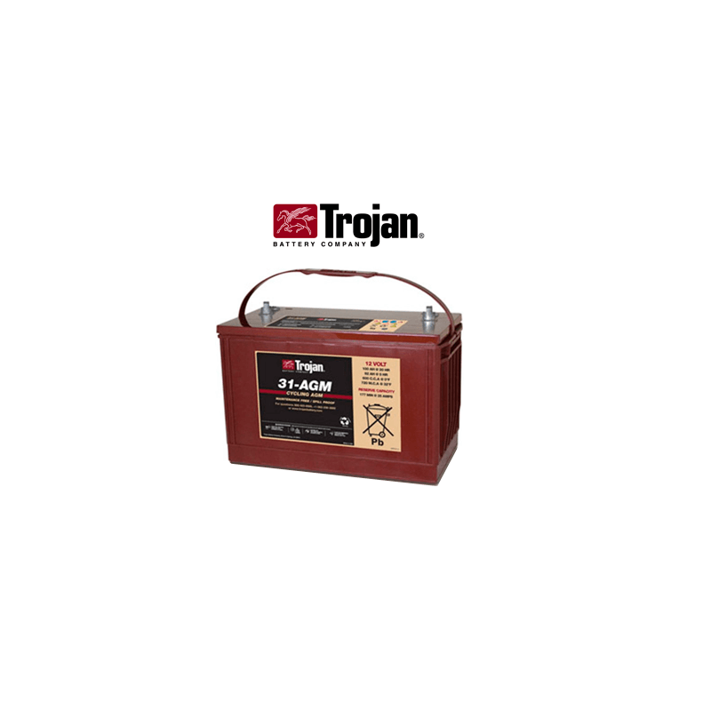 Batería Solar Agm Trojan 112ah
