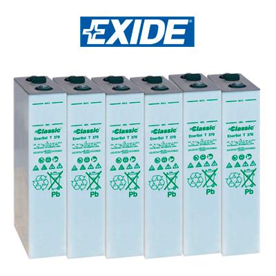 Batería Exide Classic Enersol T 550 (542ah C100)