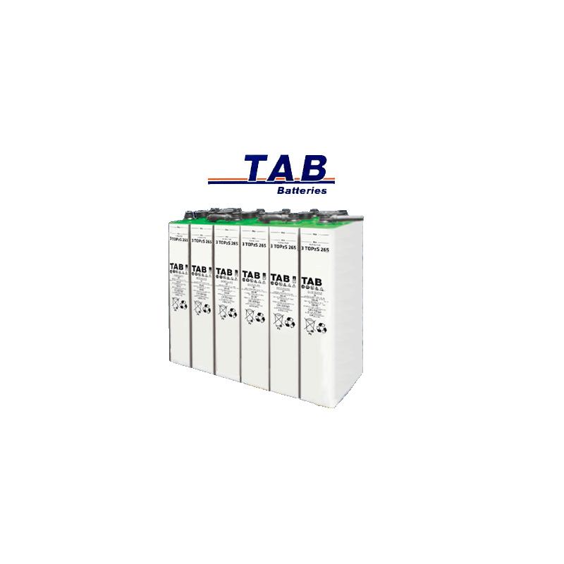 Batería Estacionaria Tab Topzs C100 De 345ah (c10 265ah)