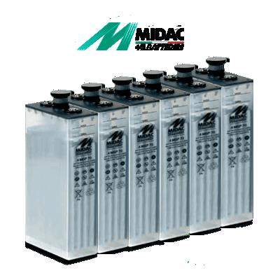 Batería Estacionaria Midac Msp C100 De 374ah