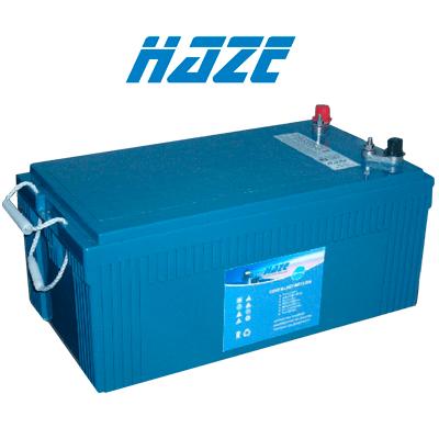 Bateria De Gel Haze Hzy 240ah C100 12v