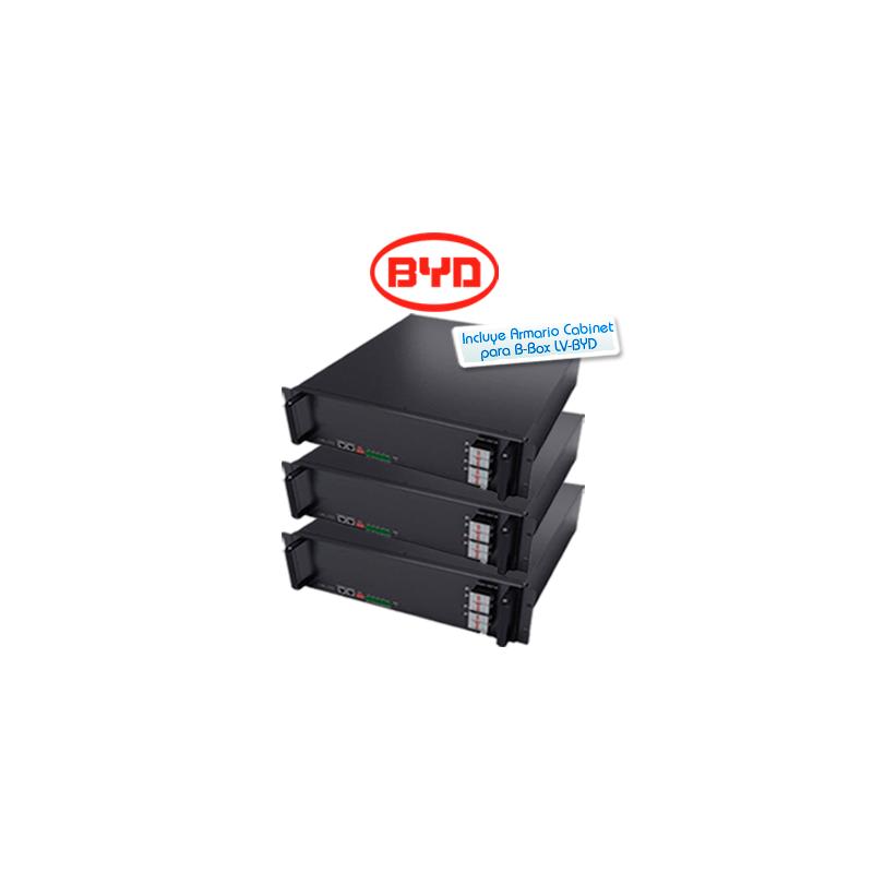Kit de batería de litio BYD Battery-Box Pro 7.5kWh 48V