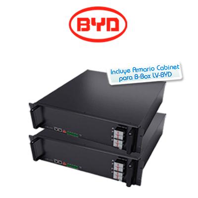 Kit de batería de litio BYD Battery-Box Pro 5.0kWh 48V