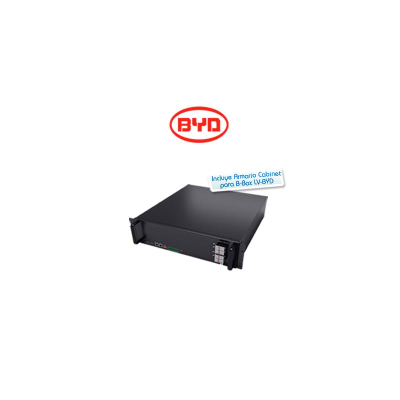 Kit de batería de litio BYD Battery-Box Pro 2.5kWh 48V