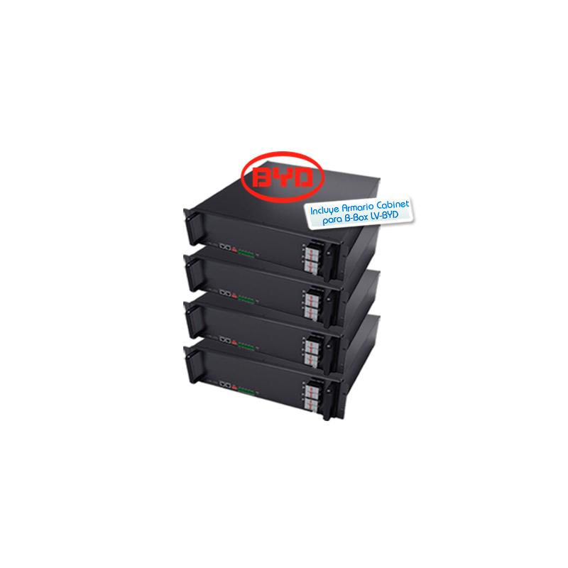 Kit de batería de litio BYD Battery-Box Pro 10.0kWh 48V