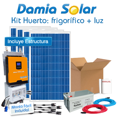 Kit solar Huerto:...