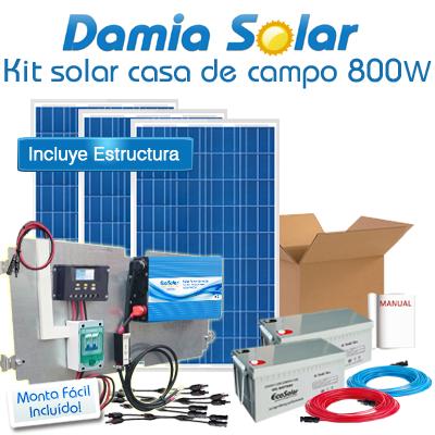 Kit Casa De Campo 800w Onda Pura Blue