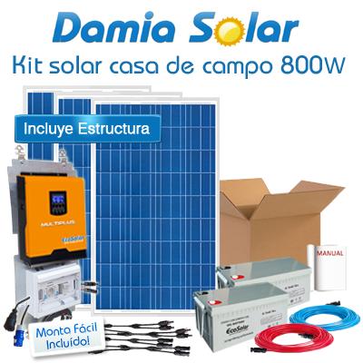 Kit Casa De Campo 800w Con Multiplus