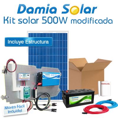Kit Solar 500W Fines de...