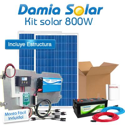 Kit Solar 800W Fines de...