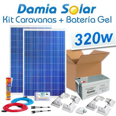Kit solar para caravanas...