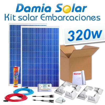 Kit solar para embarcações...