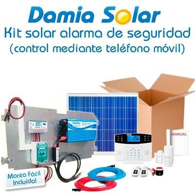 Kit solar alarma de...