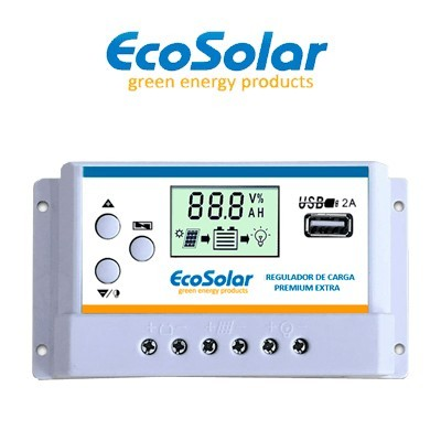 Regulador Ecosolar Premium...