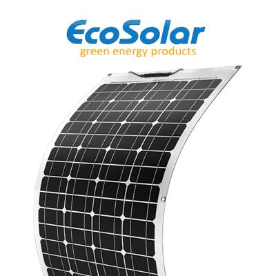Panel solar flexible...