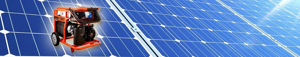 Geradores elétricos - Damia Solar