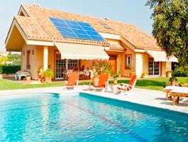 Kits solares casas de campo