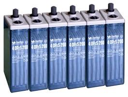 Baterías solares estacionarias
