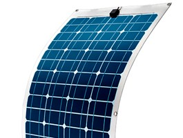 Painéis solares flexíveis